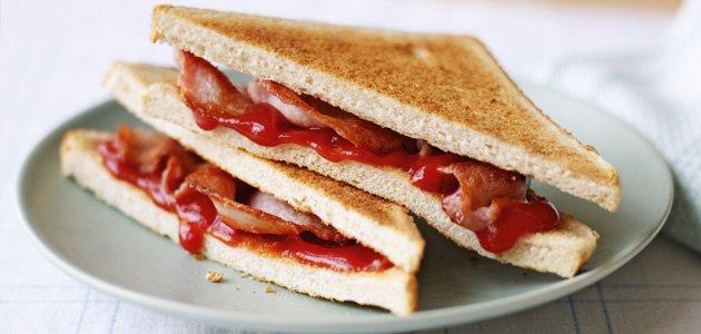 bacon sandwich.