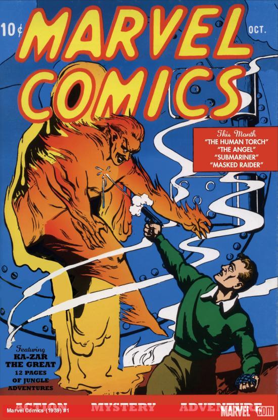 marvel comics issue #1