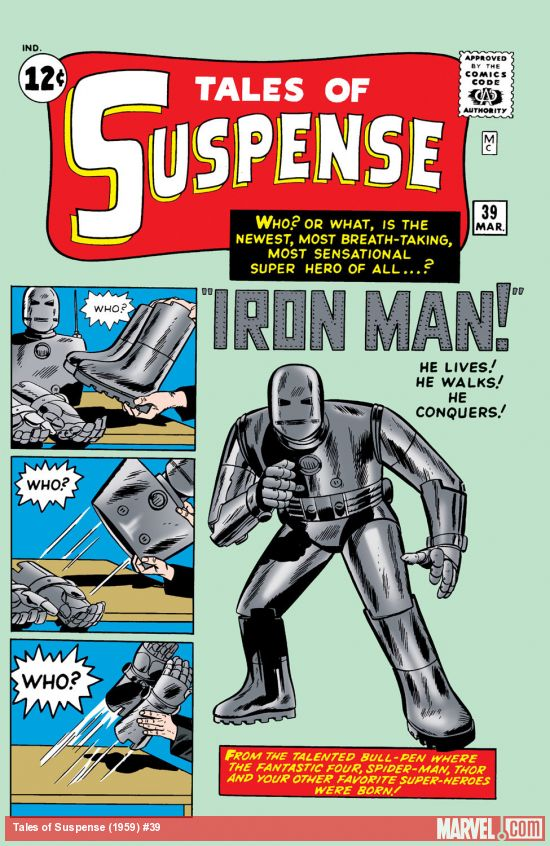 Tales of suspense issue#1
