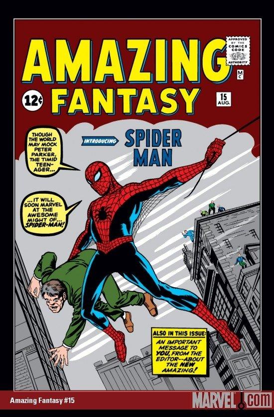 amazing fantasy issue #15