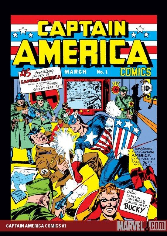captain america comics issue #1