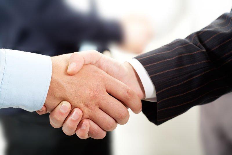 hand shake