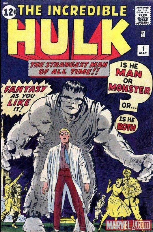 incredible hulk issue #1
