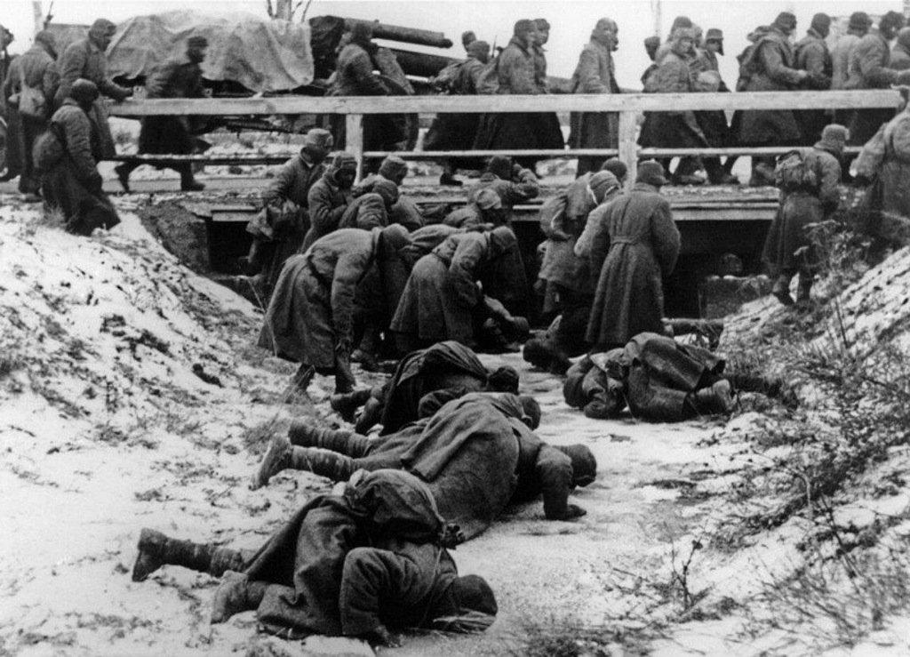 soviet POWS drinking water
