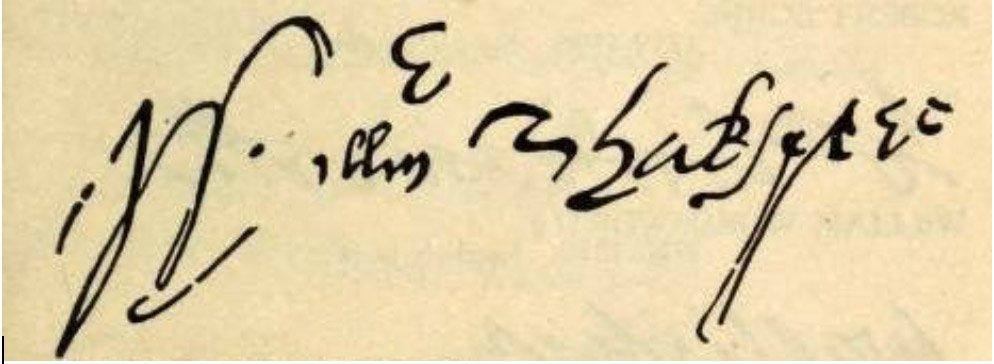 shakespeare-signatures