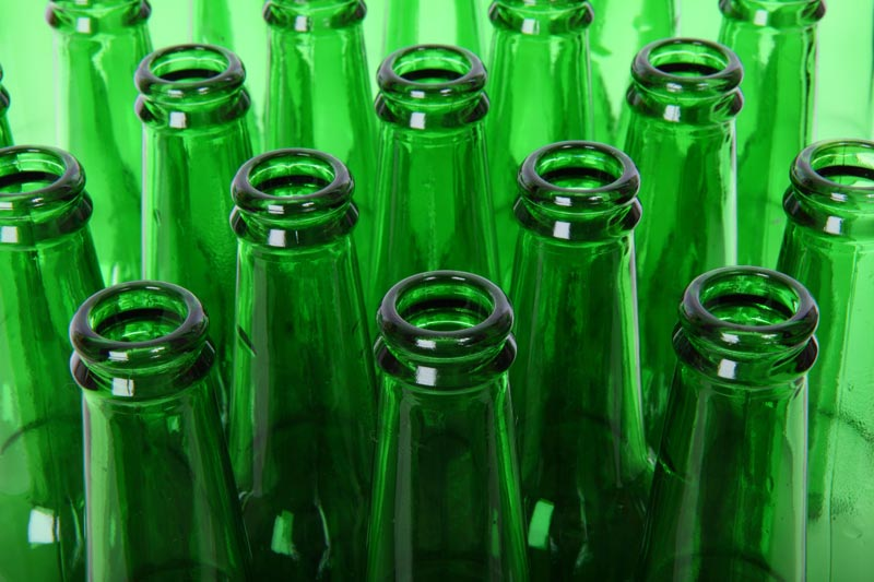 green-beer-bottles