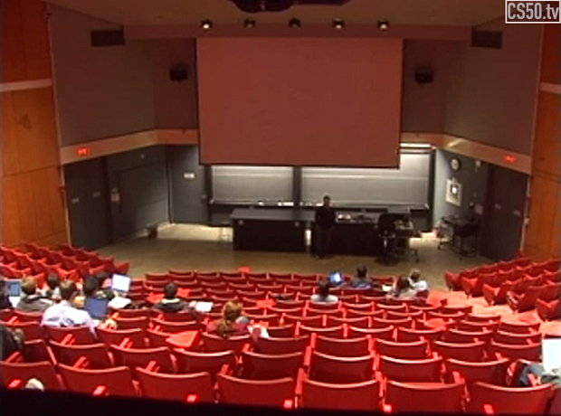 Harvard's CS50 Lecture Hall