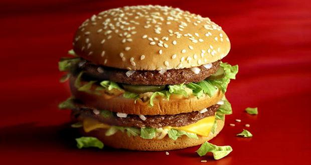 Sesame Seeds on McDonald's Hamburger bun