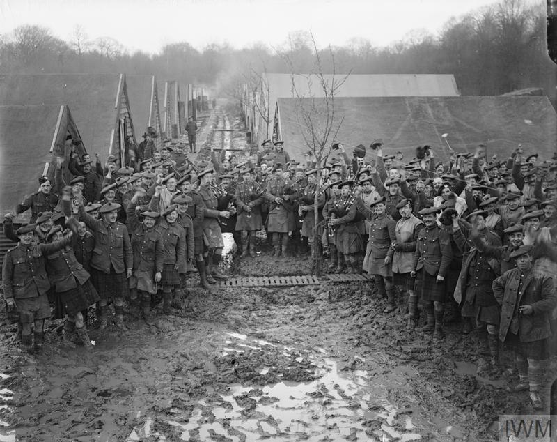 Troops of the Black Watch regiment