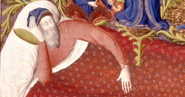sleeping-man-medieval-times