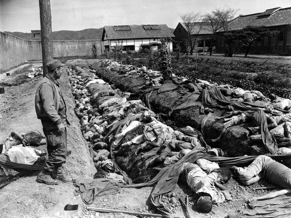 aftermath of mass civilian