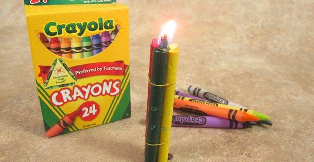 crayon-burning