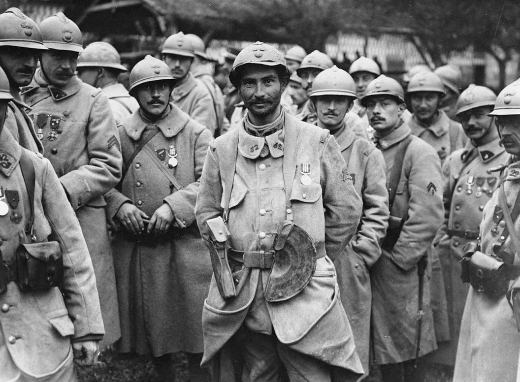 ww1 french soldiers