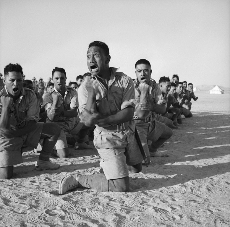 Maori soldiers