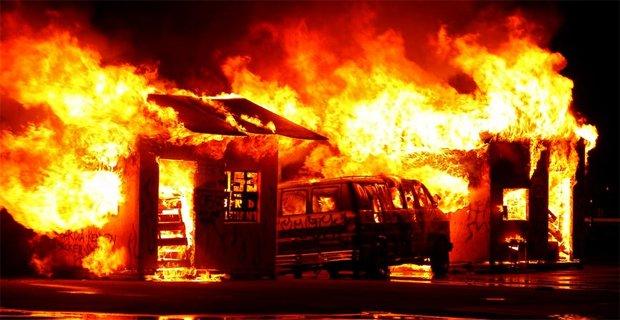 burning-vehicle