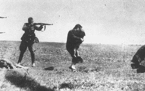 german soldier exceutes