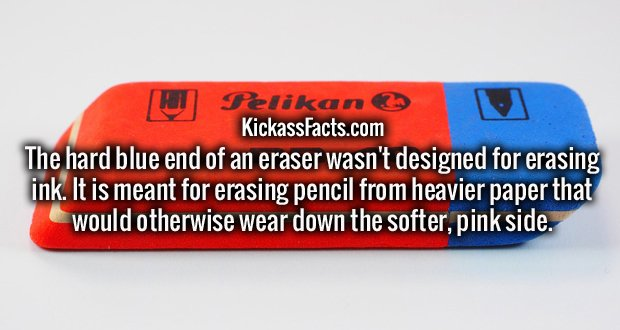 http://www.vorply.com/facts/list/finally-there-is-an-answer-to-what-the-blue-part-of-the-eraser-is-for-and-its-not-what-you-think/