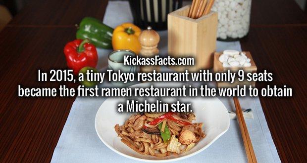 http://www.telegraph.co.uk/news/worldnews/asia/japan/12028249/Tiny-Tokyo-noodle-restaurant-becomes-first-ramen-bar-to-win-Michelin-Star.html