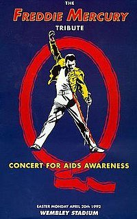 freddie mercury tribute speech Plans for a freddie mercury tribute concert for aids awareness to take  i  particularly remember the speech given by elizabeth taylor which.